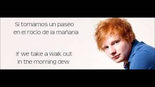 Little Bird -Ed Sheeran Subitulos Español-Inglés.