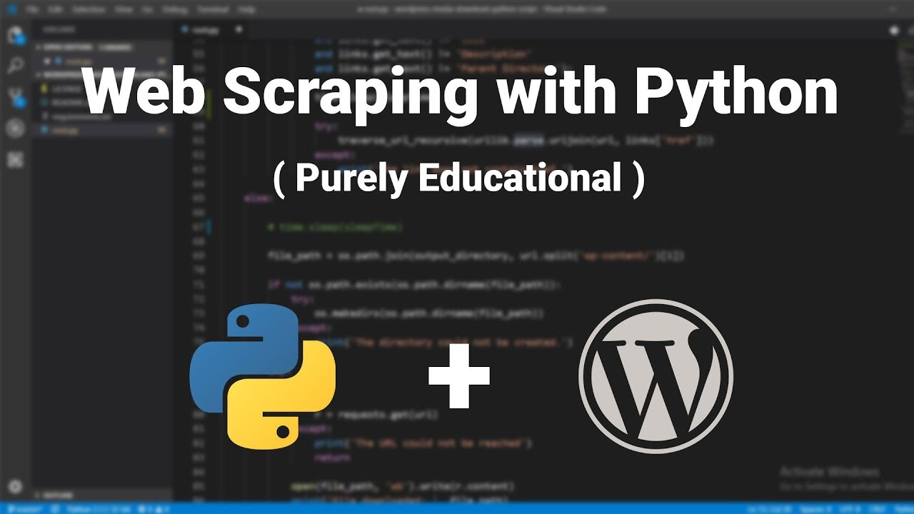 How to download All WordPress Media (using Python Web Scraping)