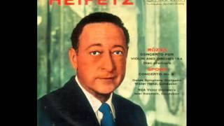 Tchaikovsky: Serenade Melancolique (Heifetz, violin)