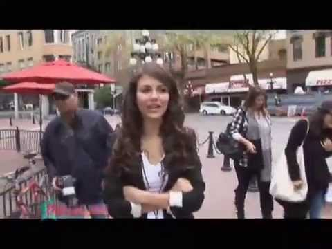 Victorious Star, Victoria Justice, Gives a Tour of Vancouver!