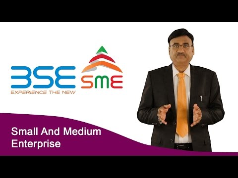 Listing on the stock exchanges (BSE & NSE) by a small and medium enterprise (SME)
