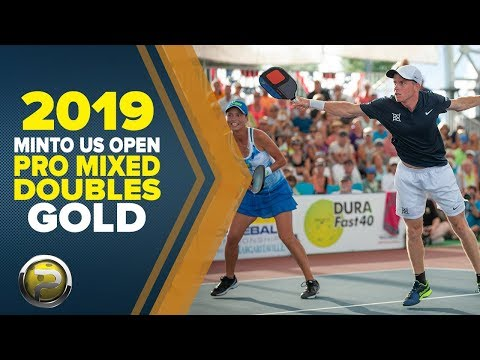 PRO Mixed Doubles GOLD - 2019 Minto US Open Pickleball Championships - Aired On CBS Sports Network