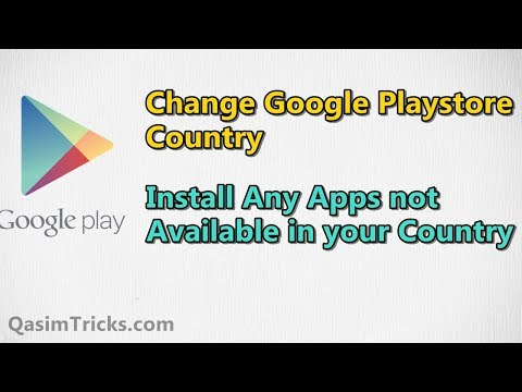 How to change country in google play music