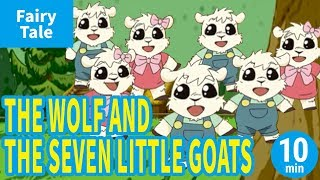THE WOLF AND THE SEVEN LITTLE GOATS (ENGLISH) Animation of World's ...