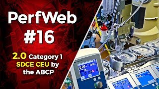 PerfWeb 16 – Pump Standby. Disasters and the Healthcare Professional.