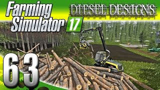 Farming Simulator 2017 Gameplay :EP63: Logging, Wool, & $500K CASH! (PC HD Goldcrest Valley)