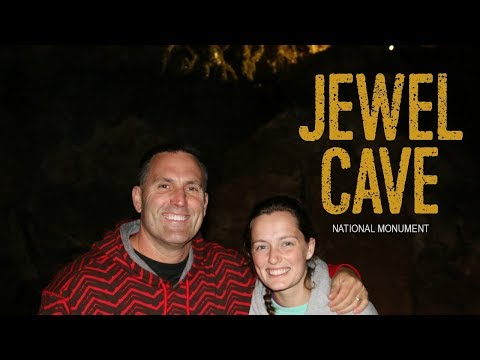 Jewel Cave National Monument - Inside a Crystal Geode