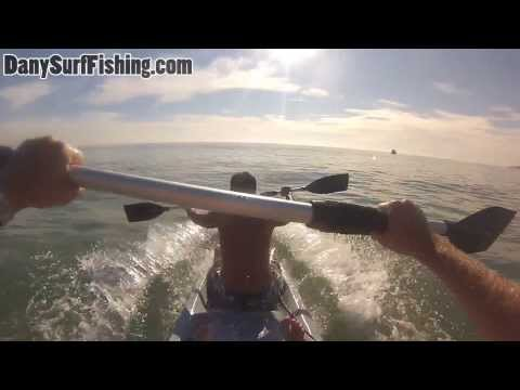 Having Fun With Kayak Cobra Tandem With A Go Pro HERO 3 Head Mount