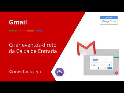 Como criar eventos diretamente na caixa de entrada - Gmail