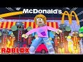 Roblox Escape Zombies Attacking McDonalds!