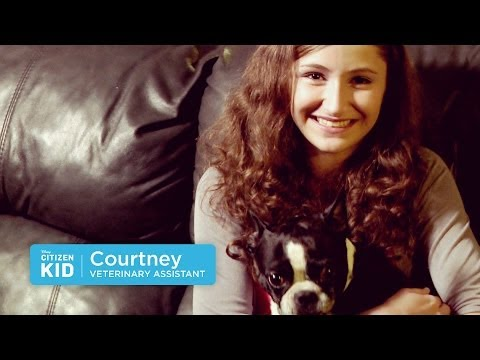 Courtney, Realizing a Veterinary Dream | Citizen Kid by Disney