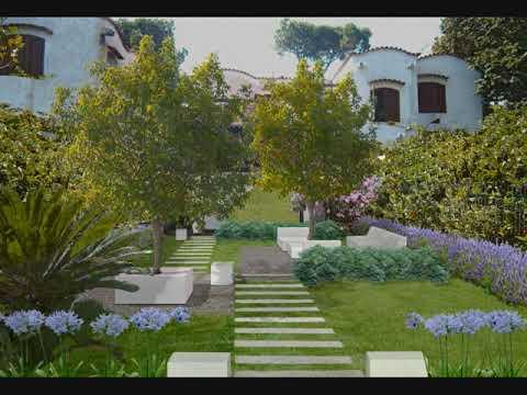 Progetto giardino a roma youtube for Piccoli progetti di ranch