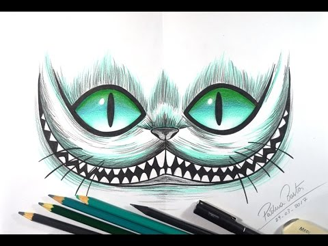 como desenhar o gato risonho da alice tumblr passo a passo youtube
