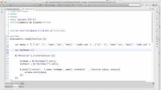 Jquery com Servlet  - Ajax e Json Parte 2