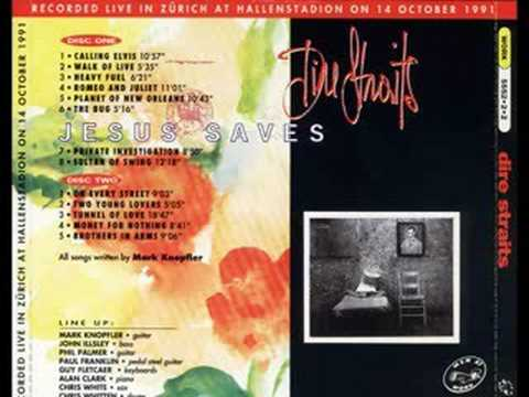 Dire Straits - Calling Elvis Live In Zurich 1991