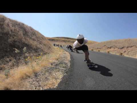 Longboarding, Maryhill Freeride to Menlo Park Skate Jam, Part 1