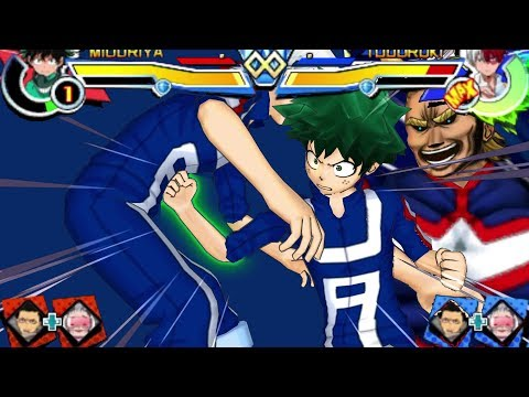 My Hero Academia Battle For All Remastered 3ds All