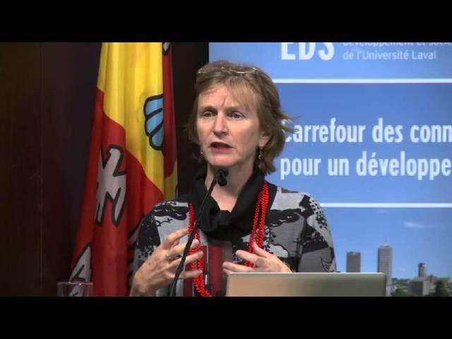 Catherine Potvin - Que retenir du 5e rapport du GIEC?