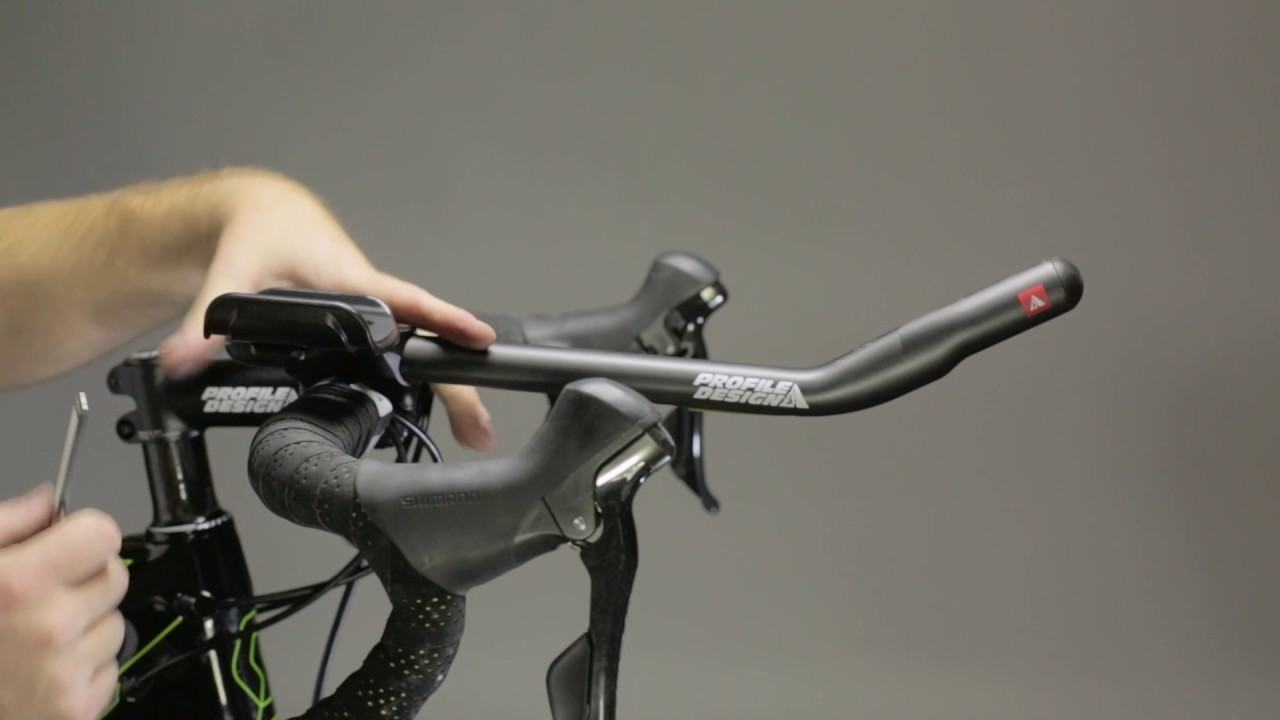 how to install the profile design t series carbon aerobar