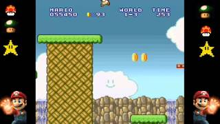 Super Mario Bros - SNES - Mondo 1