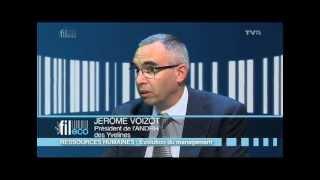 Fil Eco – Jérôme Voizot, président de l'ANDRH