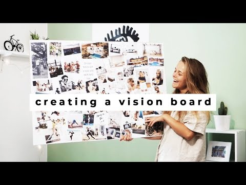 how to make a vision board | my future self