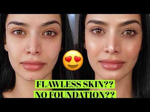 Flawless Skin without Foundation| No Makeup Makeup Look