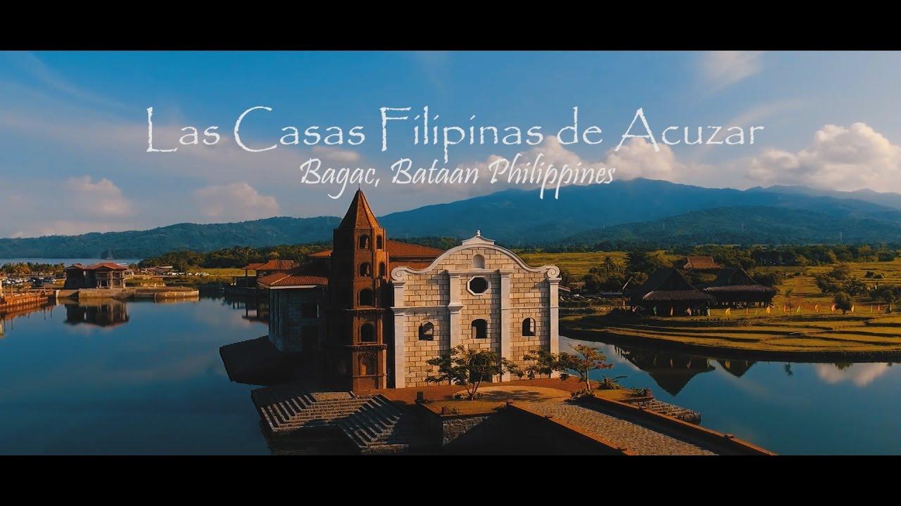 Las Casas Filipinas de Acuzar  Bagac Bataan  YouTube