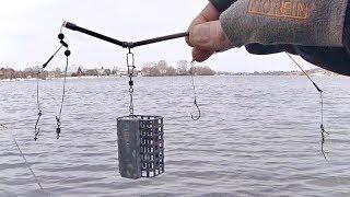 Новая фидерная оснастка! Фидерная рыбалка без поклёвок.