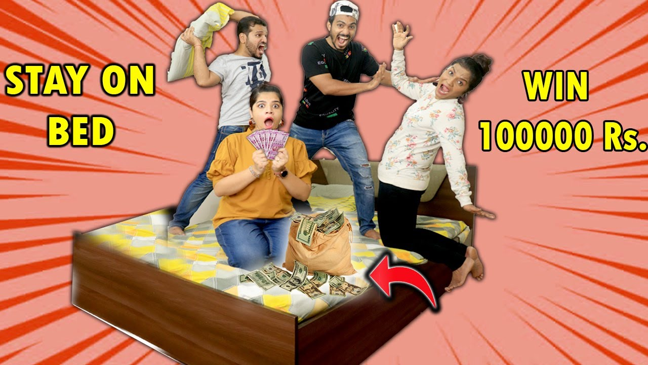 Download Last To Leave BED Wins 1 Lakh Rupees | Hungry Birds