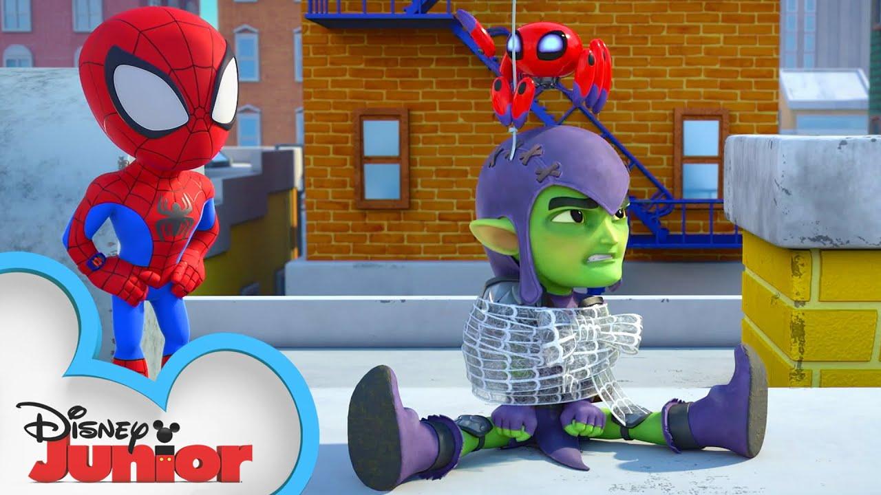 Download Spidey Surprise   Marvel's Spidey and his Amazing Friends   @Disney Junior  @Marvel HQ
