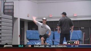 Uw-Oshkosh baseball hits the ground running