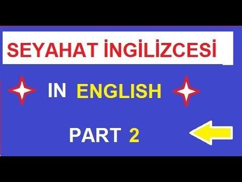 Seyahat İngilizcesi  Traveling Phrases   Pratik ve Hzılı İngilizce Kalıpları 2  Bölüm
