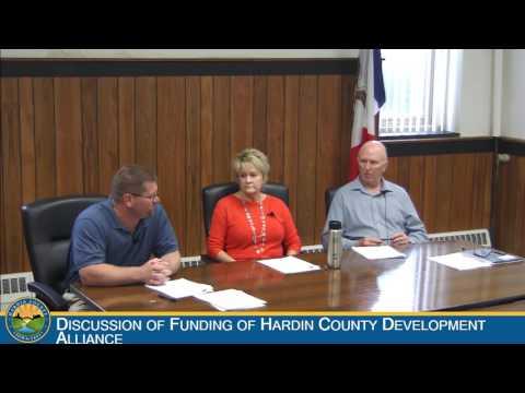 Hardin County Board of Supervisors Meeting: 5-25-2016