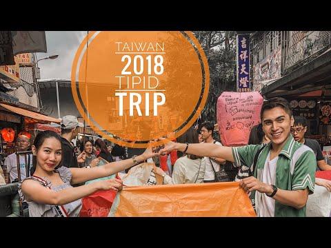 VLOG 2    Tipid Taiwan Travel 2018 VLOG (Day 1) - Jiufen/Shifen/Taipei Tour