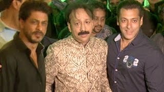 Shahrukh And Salman At Baba Siddiqui IFTAR Parties