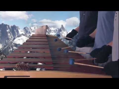 Legend of Zelda - Skyward Sword Theme/Ballad of the Goddess on Marimba