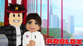 FLYING TO USA FOR A VACATION   Roblox World Expedition