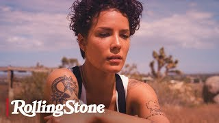 Halsey is featured on the cover of 2019 rolling stone hot issue. go behind scenes her shoot. get full story at: https://bit.ly/2zihztjge...
