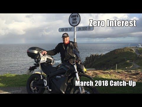 Zero Interest 360 - March Catch-up - Electric Motorbike and Garmin VIRB 360 Camera