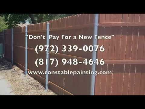 exterior-painting-dallas-ft.-worth- -house-painting-dallas---constable-dfw-painting---fence-staining