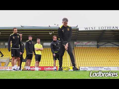 #ChipshotChallenge with Livingston FC