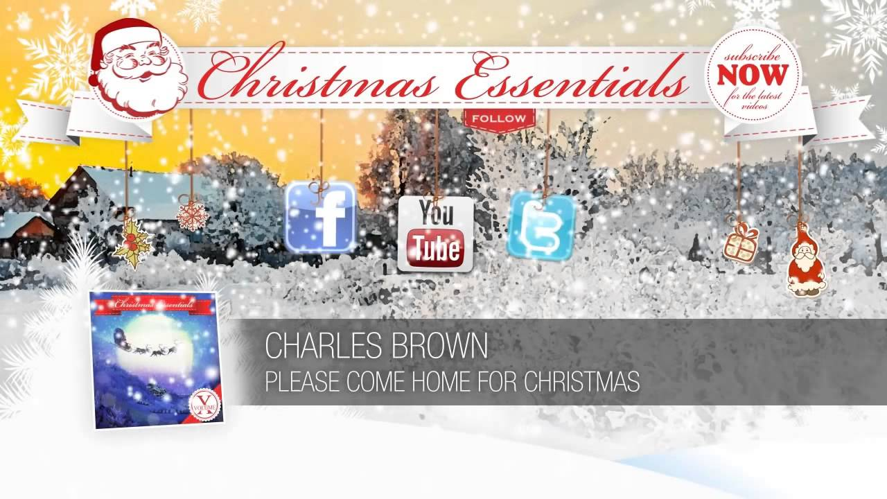 Charles brown please come home for christmas - Charles Brown Please Come Home For Christmas