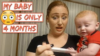 Taking A Pregnancy Test For Baby #6