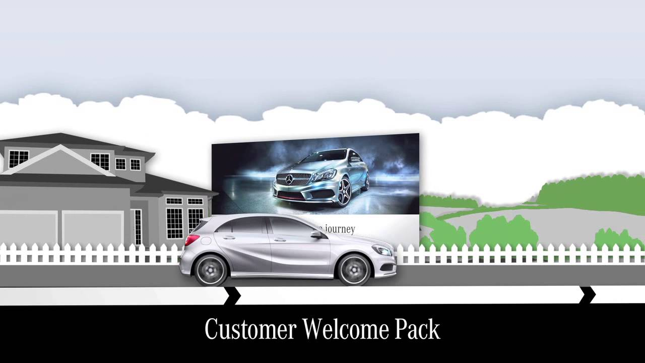 mercedes benz finance customer journey youtube