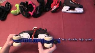 RollerGuard Skaboots and Generic Skate Guard review for Ice Hockey Skates