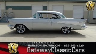 1957 Chevrolet Bel Air  Gateway Classic Cars of Houston  stock 471-HOU