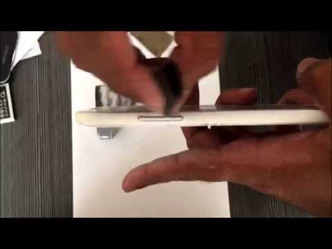 Removing the Side Panel Color of your Phone