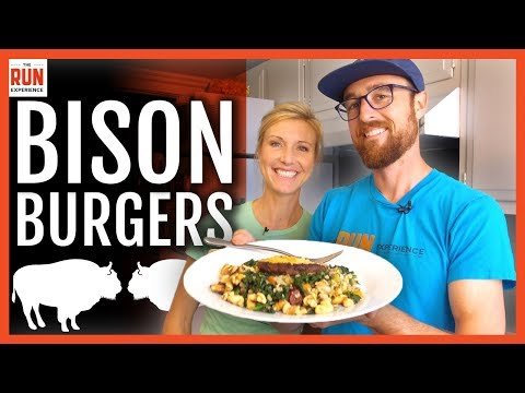 Bison Burgers: Freezer To Fork For Runners
