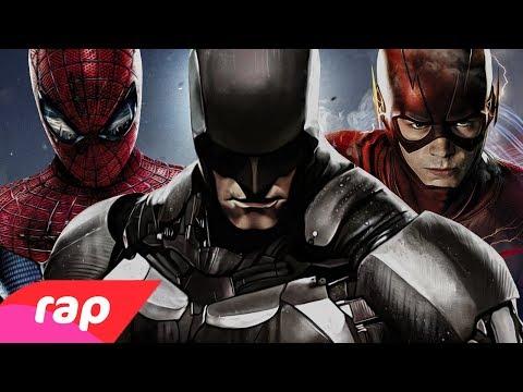Rap Triste Do Homem Aranha Flash E Batman Momentos Com Quem Se